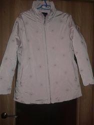 Куртка нежно-розовая 46-48р