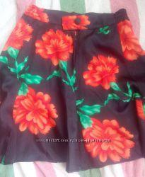 Шикарная шелковая юбка