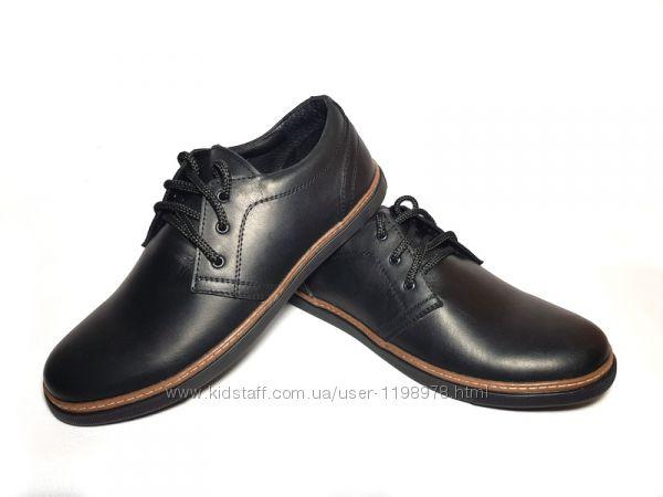 Кожаные туфли, модель LT -19