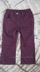 Штани на весну-літо для дівчинки lupilu р. 92 на 18-24міс.