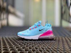 b38e81b6c5cda9 Взуття Nike Air Max 270 Blue - Кросівки Найк - Топ якість - Без передоплати