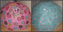 Пляжный зонтик , пляжний зонт , зонтік , пончик , фламинго 180см