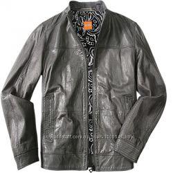 Кожаная куртка мужская Hugo Boss оригинал