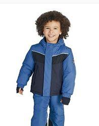 Лыжный Термо комплект, набор полукомбинезон и куртка на флисе, Crivit pro