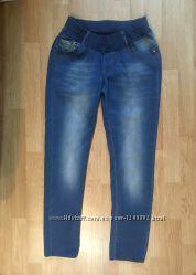 Фирменные стрейчевые джинсы для беременных Gaiamom, размер 46, М