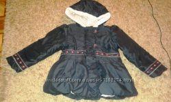 Курточка утепленная на девочку 98 р.