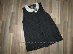 Красивейшая блуза с воротником из бусин Select