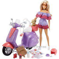 Новинка лялька Barbie Pink Passport Travel