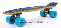 Пенни борд хит сезона Fish skateboards 2-х цветный Софттач