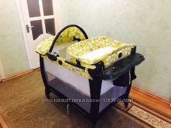 Новый манеж - кроватка graco в упаковке. Оригинал с Америки. Грако.