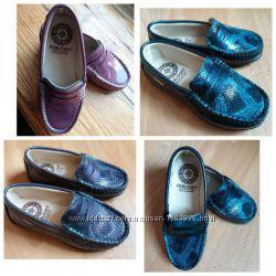 Pablosky кожаные новые мокасины туфли туфельки 24 размер оригинал ... 48e0b479f0d6c