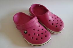 Crocs новые кроксы сабо j2 33- 34