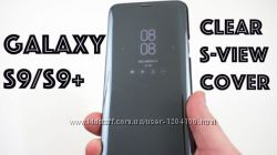Смарт Чехол Clear View Standing Cover Samsung Galaxy S9 G960 S9 Plus G965