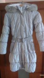 Зимнее детское пуховик пальто PILGUNI, рост 146.