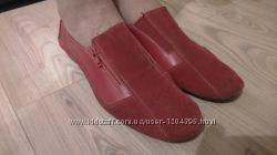 Туфли кожанные 39-40р