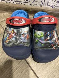 Оригинал Crocs Avengers Marvel J1 20,4 см