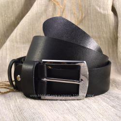 Мужской кожаный ремень, черный и коричневый. B-01, В-02