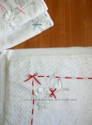 Крестильная крыжма - одеяло  Бесплатная доставка