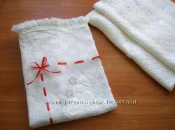 Крестильная крыжма - одеяло Весна  Бесплатная доставка