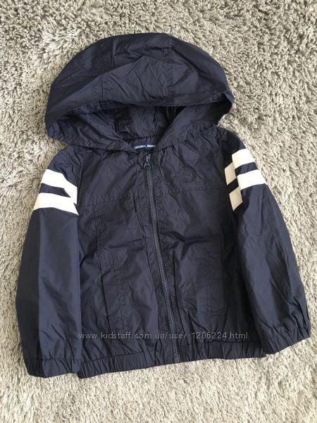 Куртка  Or. marines практически новая, дождевик, ветровка
