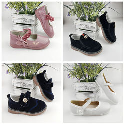 Туфли для девочки для мальчика замшевые лакированные босоножки