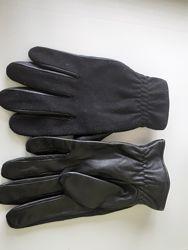 Кожаные перчатки LIVERY.
