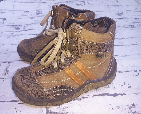 Очень теплые, натуральные зимние ботинки, сапоги. 26-27 размер. Buddy dog