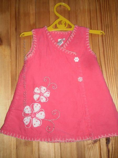 Платье сарафан девочке 0-9 месяцев