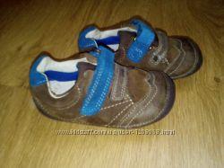 Кожанные туфли 12, 5 см р. 20-21 Clarks Кларкс