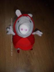 мягкая игрушка Свинка Пеппа Красная шапочка Peppa Pig ABD Англия оригинал 2