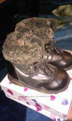кожанніе ботиночки на девочку