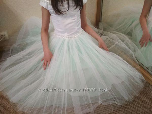 платье праздничное 5-10 лет