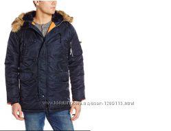 680a9d74c63 Зимняя куртка-парка Alpha Industries N-3B Slim-Fit Parka Аляска ...