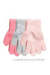 Новые перчатки H&M 4-8, 8-12