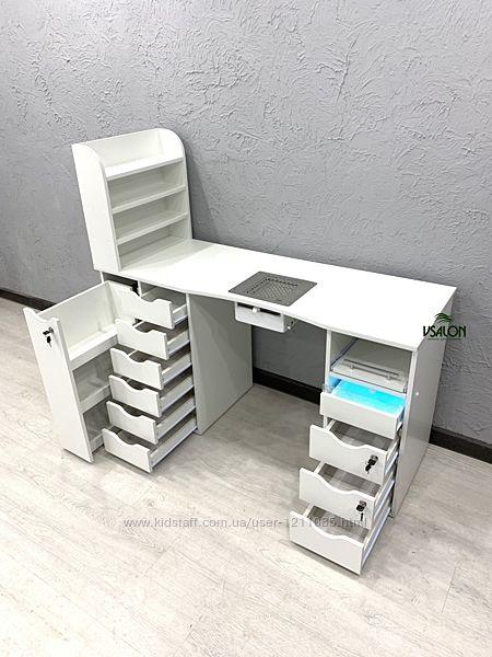Профессиональный маникюрный стол с УФ лампой
