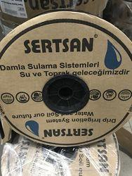 Лента капельная 6мил 20см 500м Турция с жестким эммитером