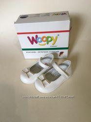 Новые кожаные туфельки woopy ortopedic