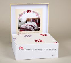 Фланельные комплекты постельного TAC с простыней на резинке
