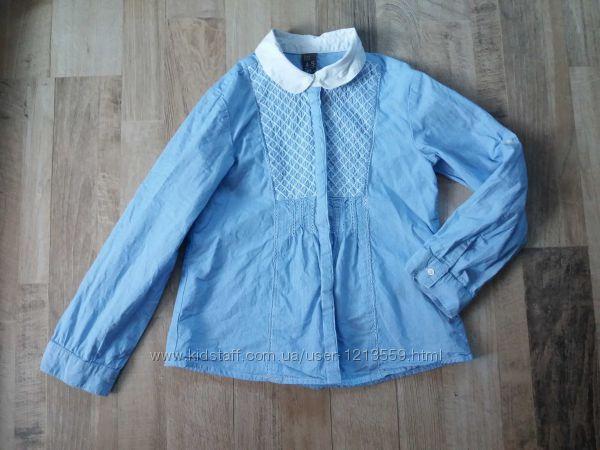 Рубашка блузка на девочку Zara Зара 4-5лет.