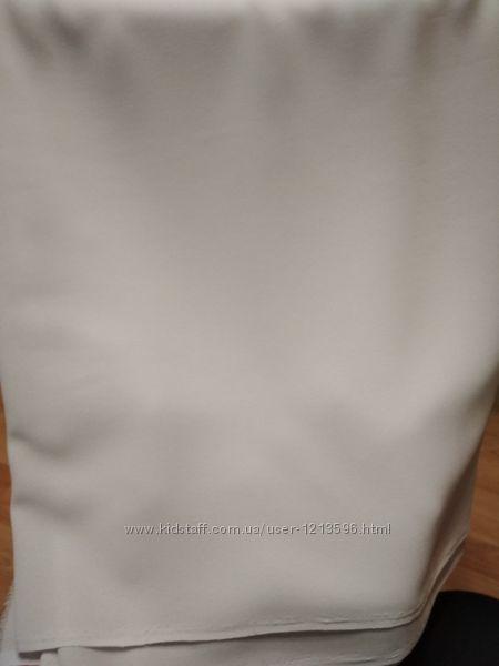 ткань креп шифон серого цвета