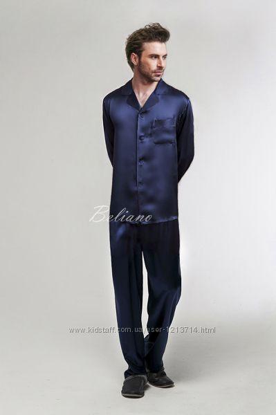 Шелковая пижама мужская. Натуральный итальянский шелк fb55be1efa526