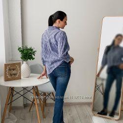 Нежная блуза с перфорацией