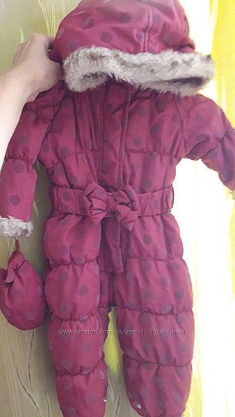Куртка и комбинезон Matalan 9-12 мес.