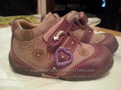 демисезонные ботинки PERLINA для девочки