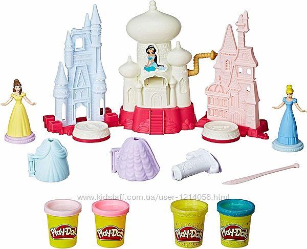 Набор пластилина Play-Doh Disney Princess, Hasbro. Оригинал