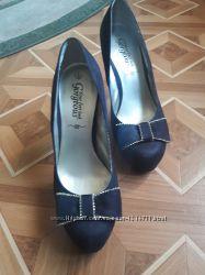 Шикарные туфли New look женские замш недорого