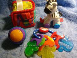 Пакет фирменных игрушек Fisher price, Nuby, Bright stars