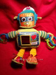 Фирменная Развивающая игрушка-подвеска Робот Lamaze