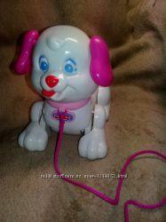 Игрушка собачка каталка Fisher-Price. Щенок Снуппи для девочек.