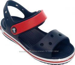 Босоножки крокс crocs crocband sandal kids, С8-J3